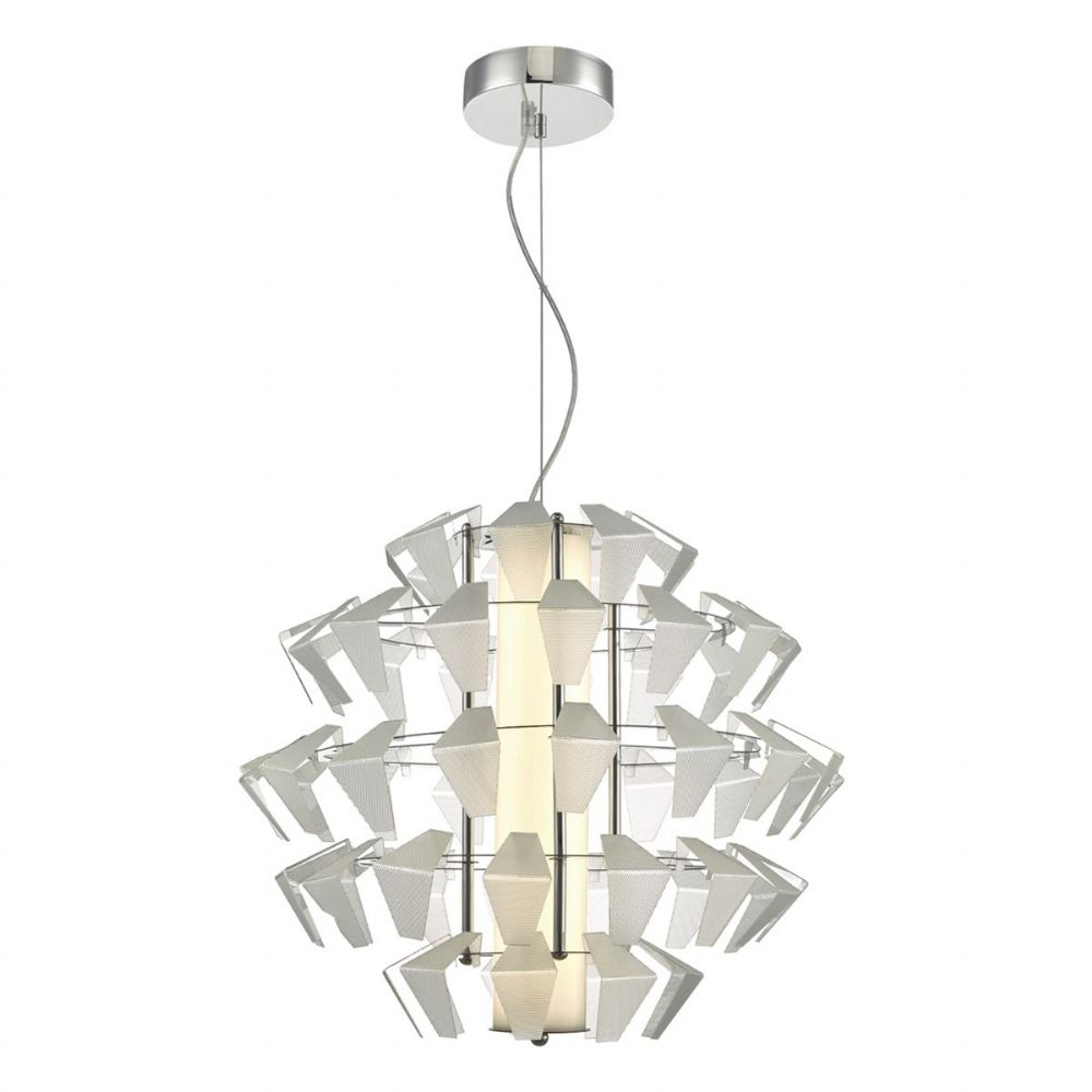 Falcon 1lt Pendant Suspension Acrylic 35w LED, Double Insulated BXFAL8608-17